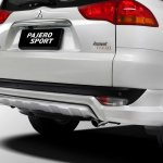 Mitsubishi Pajero Limited edition Indonesia rear bumper