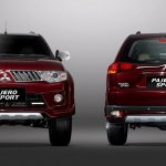 Mitsubishi Pajero Limited edition Indonesia red