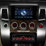 Mitsubishi Pajero Limited edition Indonesia touchscreen display
