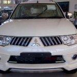 Mitsubishi Pajero Sport facelift Indonesia spyshot front fascia