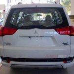 Mitsubishi Pajero Sport facelift Indonesia spyshot rear
