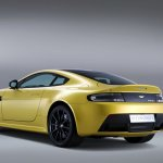 New Aston Martin V12 Vantage S rear quarter left