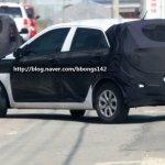 Next generation Hyundai i20 spied