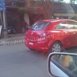 Opel Corsa spied Bengaluru rear three quarters