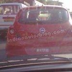 Opel Corsa spied Bengaluru rear
