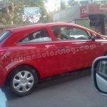Opel Corsa spied Bengaluru side