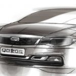 Qoros 3 Cross Hybrid sketch