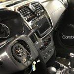 Renault Logan interior spied Russia