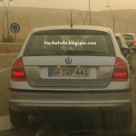 Skoda Rapid Spaceback caught testing