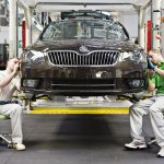 Skoda Superb Facelift assembly