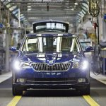 Skoda Superb Facelift production begins