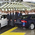 Skoda Superb facelift sedan and Comb start of production