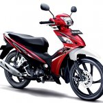 Suzuki Shooter Fi red