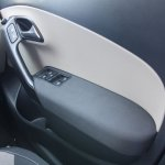 VW Polo GT TSI arm rest trimmed in fabric
