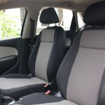 VW Polo GT TSI front seats