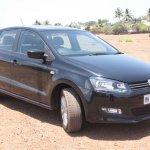 VW Polo GT TSI front three quarters left