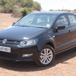 VW Polo GT TSI front three quarters