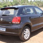 VW Polo GT TSI rear three quarters