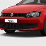 VW Polo base model front end