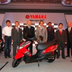 Yamaha Ray Z launch