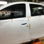 new Renault Logan production spied Russia