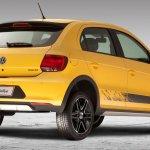 VW Gol Rallye rear view