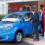 10,000 Nissan Leaf in Europe