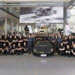 2000th Lamborghini Aventador rolls out