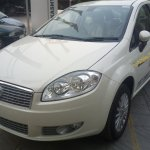 2013 Fiat Linea T-Jet front demo vehicle