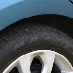 2013 Nissan Micra Maxxis tires