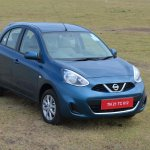 2013 Nissan Micra Pacific Blue
