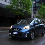 2013 Nissan Micra facelift Blue color