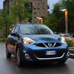 2013 Nissan Micra facelift driving front
