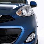 2013 Nissan Micra facelift front bumper