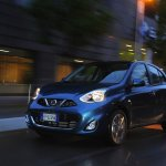2013 Nissan Micra facelift front three quarter left