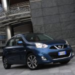 2013 Nissan Micra facelift front three quarter right