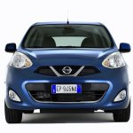 2013 Nissan Micra front facelift