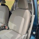 2013 Nissan Micra seats