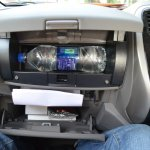 2013 Nissan Micra twin glovebox