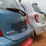 2013 Nissan Micra vs old Nissan Micra comparison rear bumper