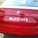 2013 Skoda Octavia testing in India rear