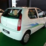 2013 Tata Indica eV2 emax CNG rear