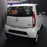 2013 Tata Nano Peach bodykit rear
