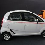 2013 Tata Nano Peach bodykit side