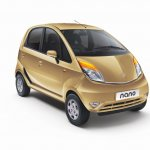 2013 Tata Nano - Royal Gold exterior