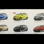 2014 Honda Jazz color options