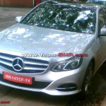 2014 Mercedes E Class spied in India