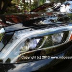 2014 Mercedes S Class American version headlight