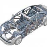 2014 Mercedes S-Class frame