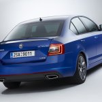 2014 Skoda Octavia RS rear
